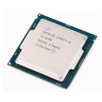CPU Intel Core i3 6100 (3.70GHz, 3M, 2 Cores 4 Threads) TRAY